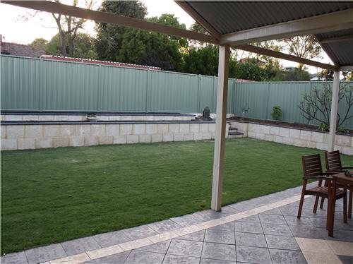 Landscaping makeovers landscape designer architect perth for Garden design perth